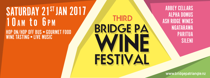 2017 Bridge Pa Triangle Wine Festival date secured