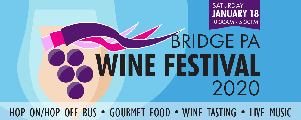 2020 Bridge Pa Wine Festival  Tickets on sale from 1 October